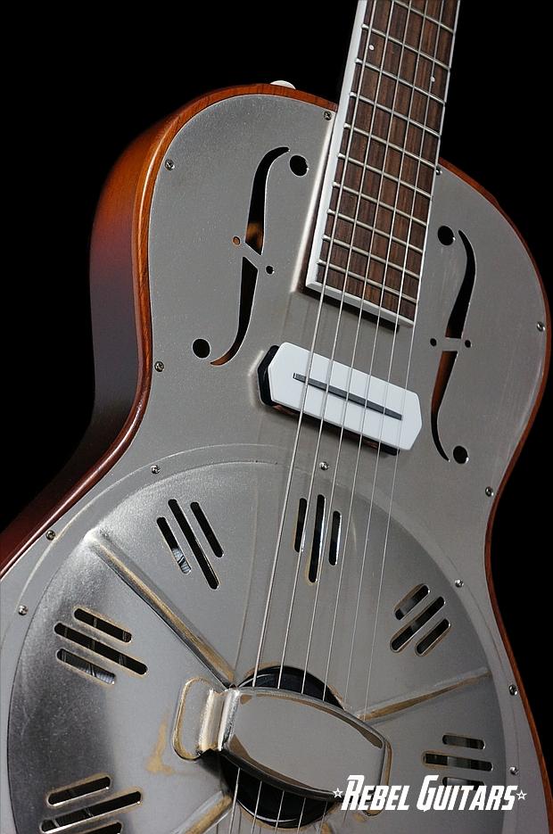 Daddy Mojo Rosetta Resophonic Rebel Guitars