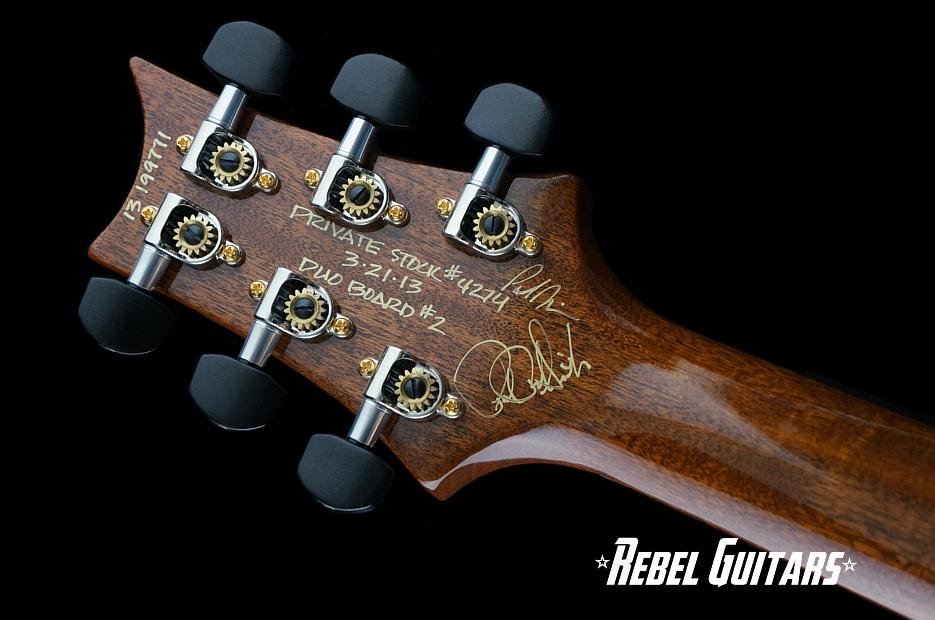 2013 Prs Private Stock 4274 Duo Board 2 Rebel Guitars