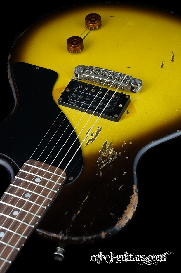 rock n roll relics bruce kulick bk model rebel guitars. Black Bedroom Furniture Sets. Home Design Ideas