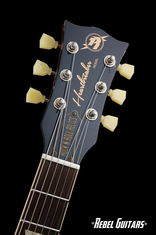 rock n roll relics heartbreaker in lemon burst rebel guitars. Black Bedroom Furniture Sets. Home Design Ideas