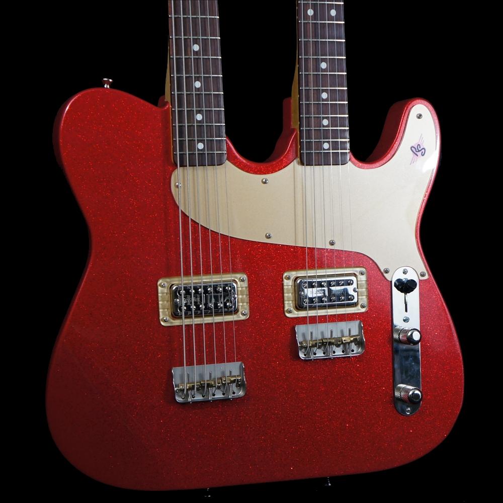 double2 rs guitarworks rocabilly jr doubleneck telecaster pinterest