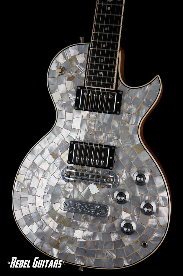 1987 Zemaitis Pearl Front Rebel Guitars