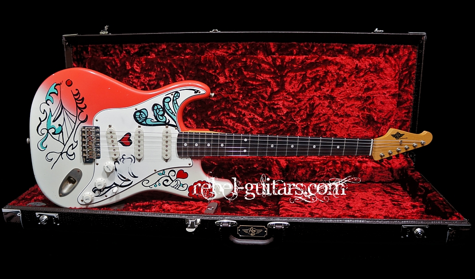 RS Guitarworks Twisted Contour with Monterey Pop Graphics