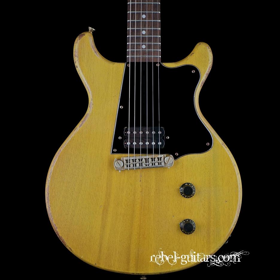 rock n roll relics thunders dc humbucker tv yellow rebel guitars. Black Bedroom Furniture Sets. Home Design Ideas