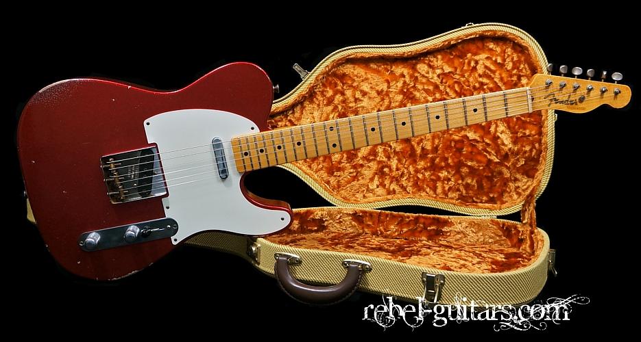 Preowned Fender Custom Shop Masterbuilt Greg Fessler 50s