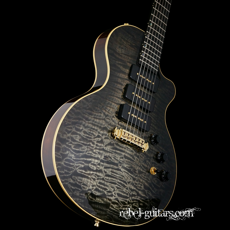 Berumen Guitars Deluxe CarveTop with matching Quilted Maple Top ... : quilted maple guitar tops - Adamdwight.com