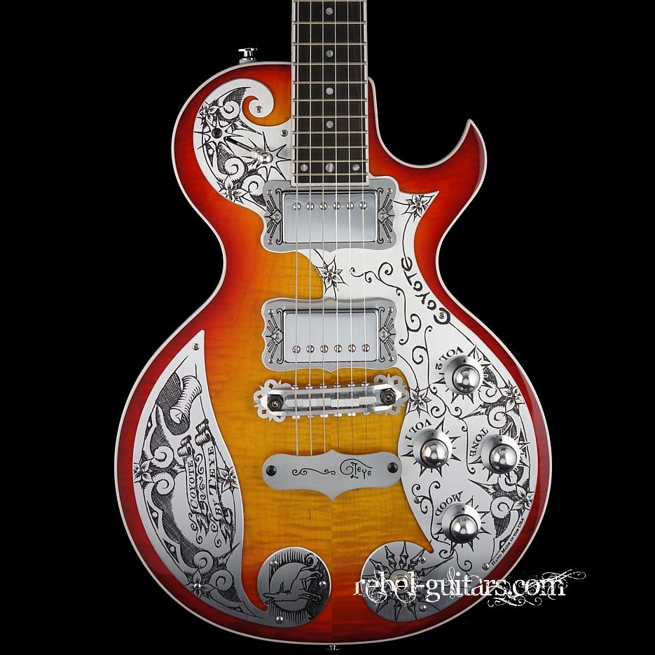 Teye-Coyote-Cherry-Sunburst-Guitar