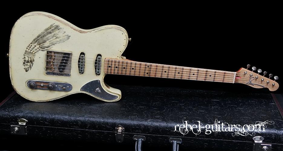 Scala-guitar-T-rod-Indian
