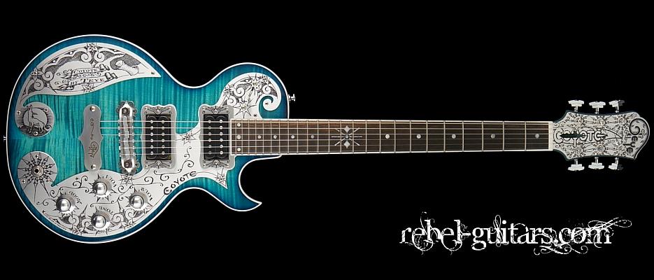 Teye-Guitar-Coyote-Turquoise