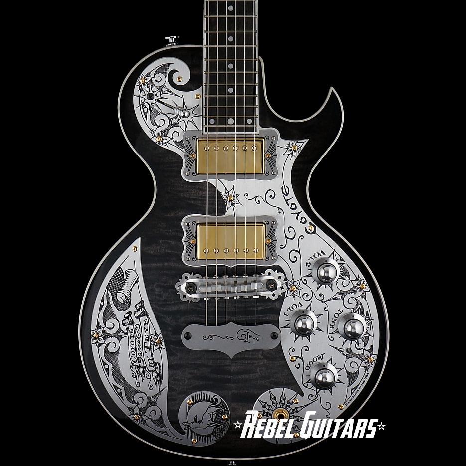 Teye-Guitars-Coyote-Black