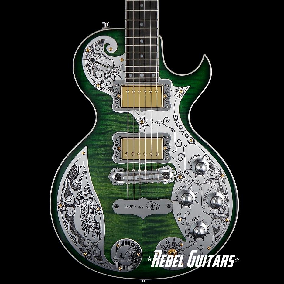 Teye-Guitars-Coyote-Green