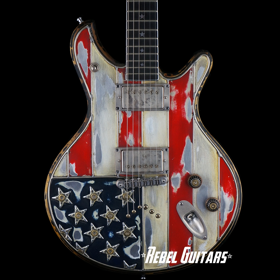 McSwain-Guitars-Red-White-Bullets