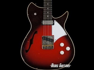 Fano-RB6-Thinline-Silvertone-Burst-Guitar
