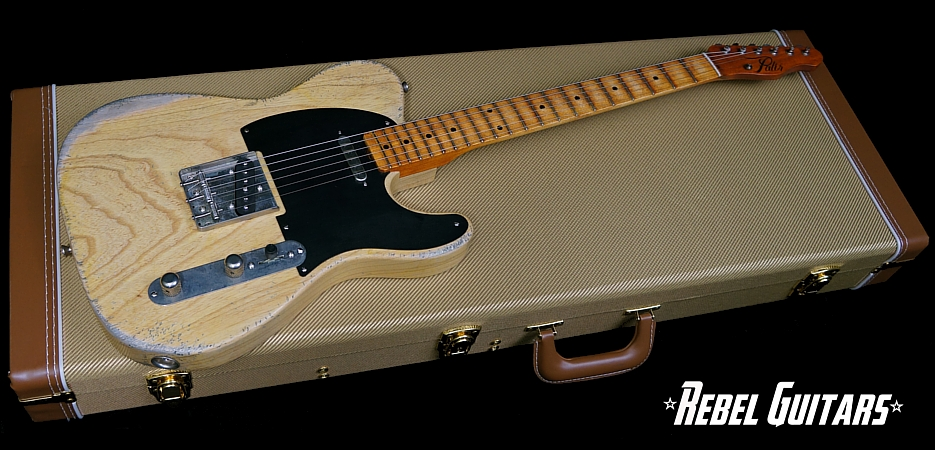 Palir-Model-T-Butterscotch-Guitar