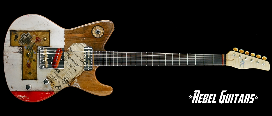 Spalt-Golden-T-Totem-Guitar