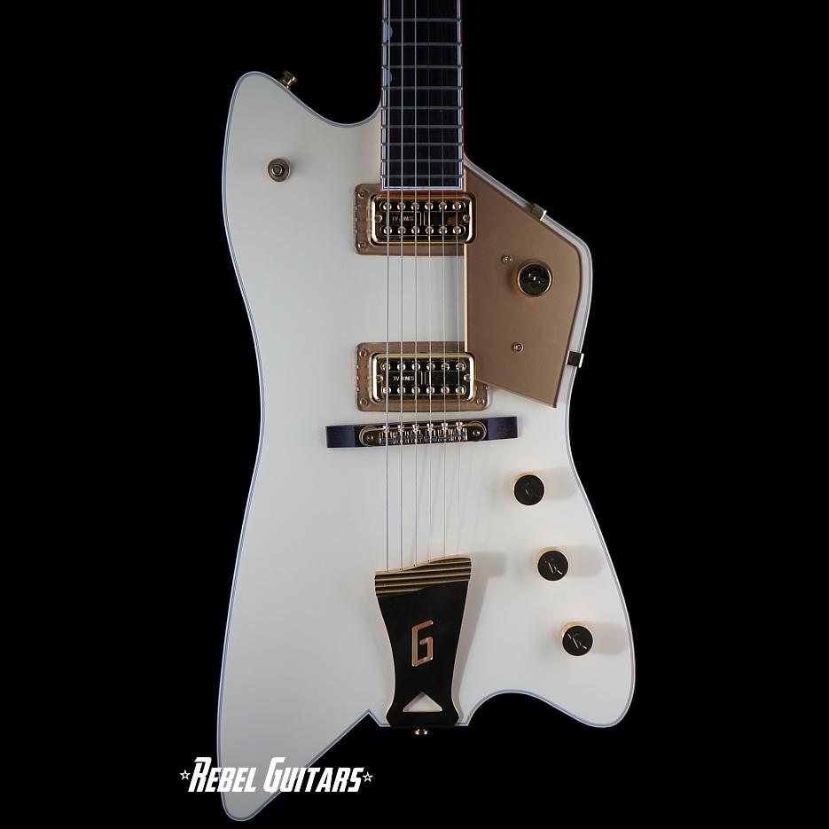 Preowned 2008 Gretsch G6199 White Billy Bo Jupiter Thunderbird