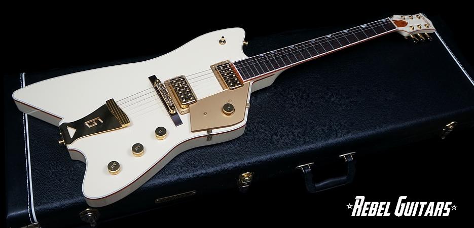 2008 Gretsch G6199 White Billy Bo Jupiter Thunderbird