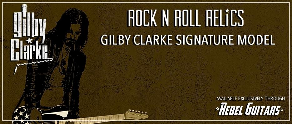 rock n roll relics gilby clarke model rebel guitars. Black Bedroom Furniture Sets. Home Design Ideas