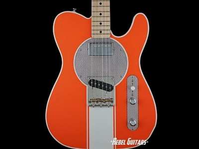 red-rooster-52-hugger-orange-racing-guitar