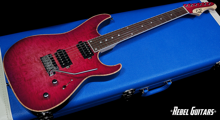 Gj2 Guitars Shredder Pink