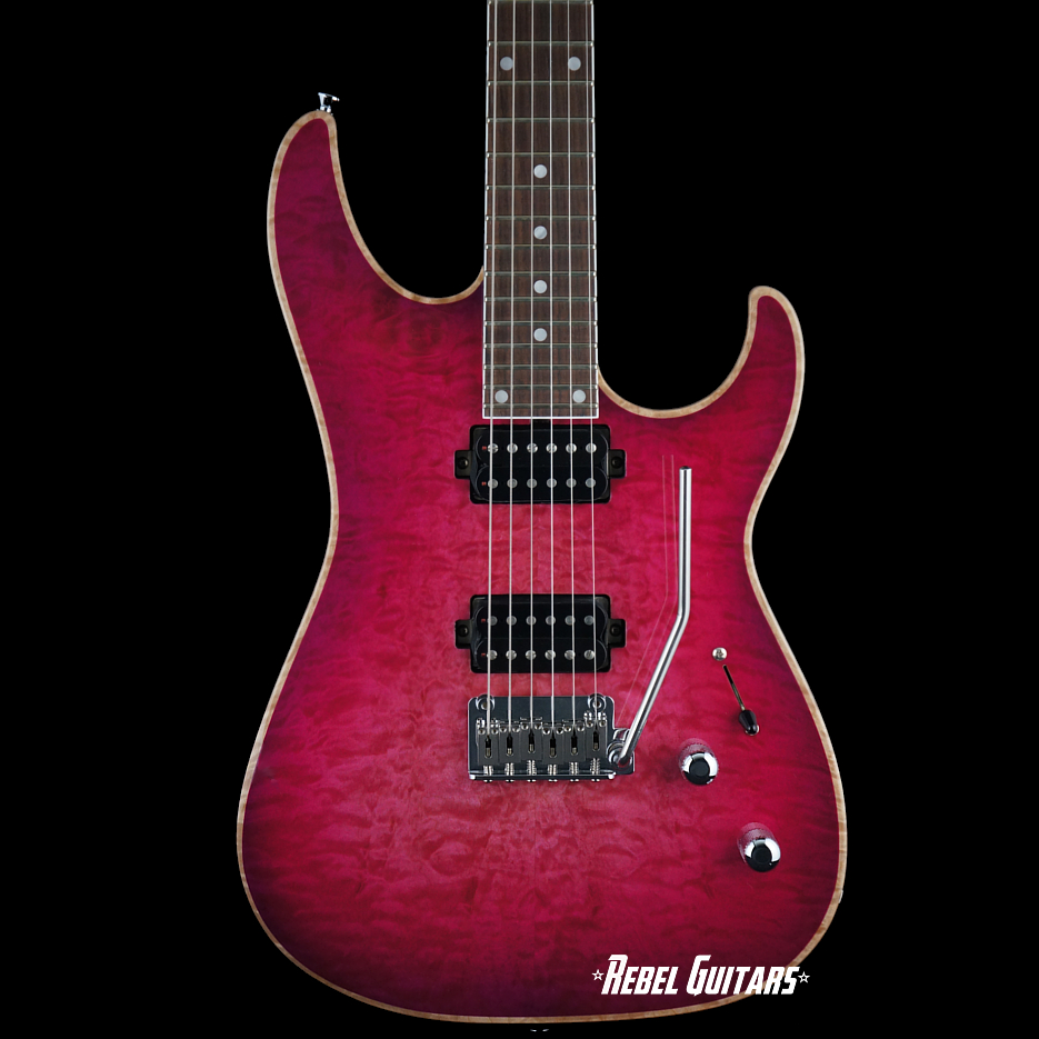 Preowned GJ2 Guitars By Grover Jackson Select Shredder NLT In Pinkburst