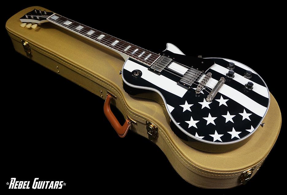 rock n roll relics fifty two black flag rebel guitars. Black Bedroom Furniture Sets. Home Design Ideas