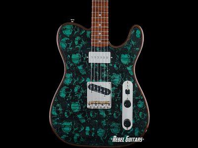 walla-guitar-green-skulls