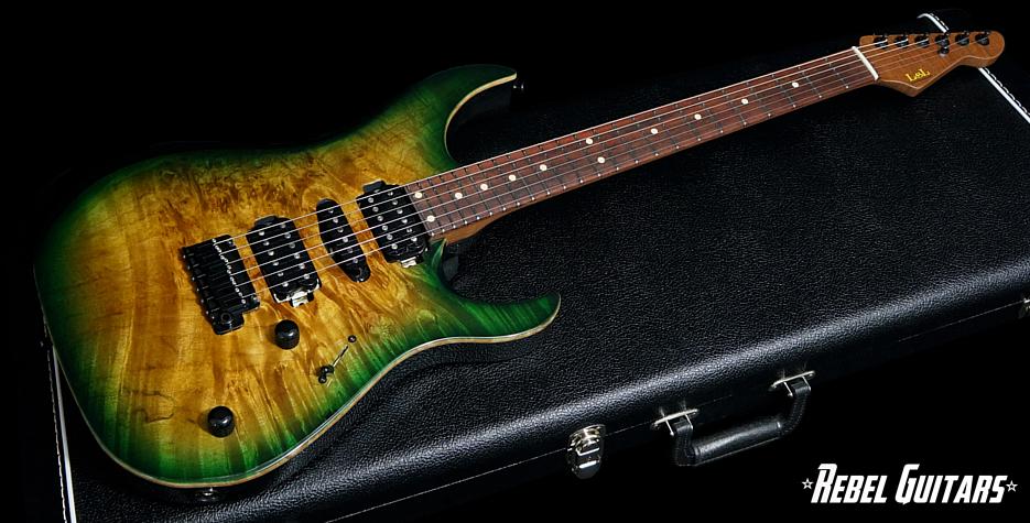 lsl-guitar-greenburst-xt4-deluxe